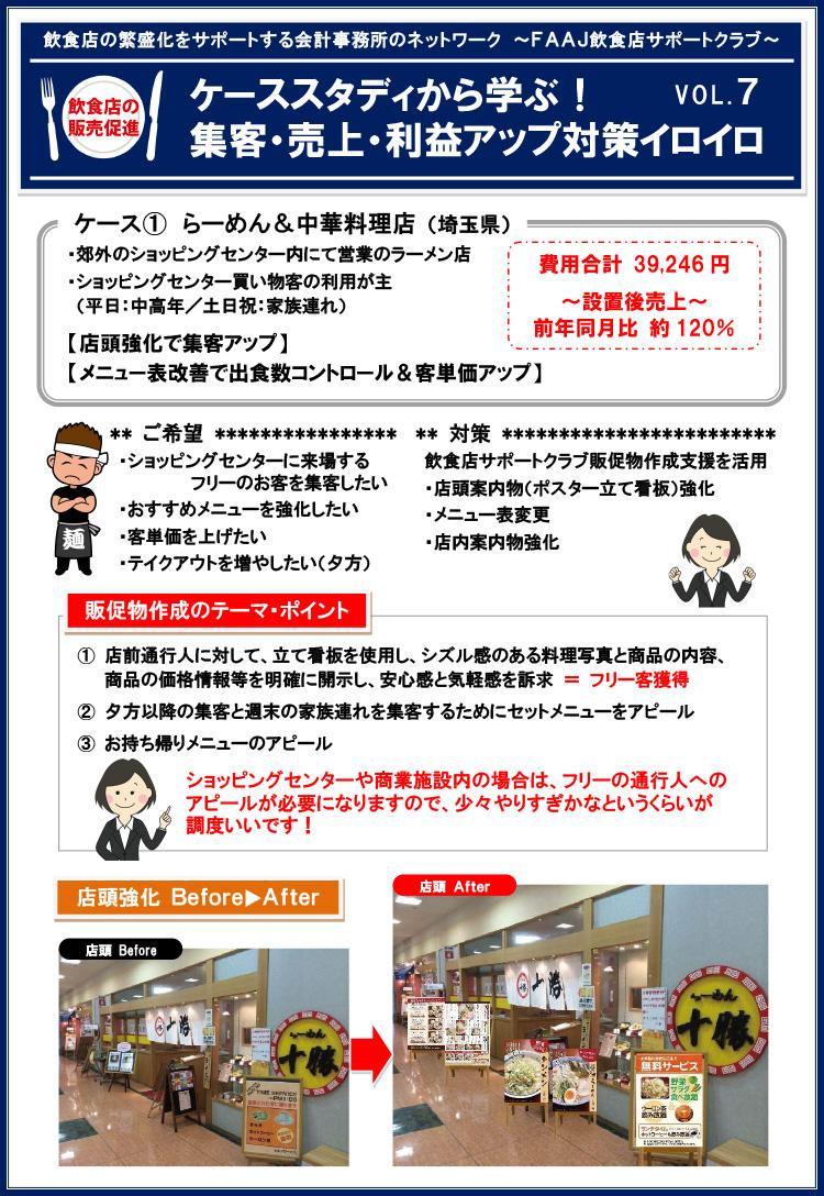 飲食店の販売促進ケーススタディvol7-1