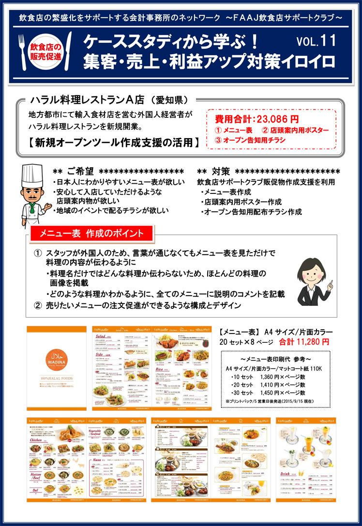 飲食店の販売促進ケーススタディvol11-1